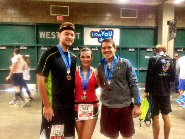 Fargo Half Marathon-May 2012