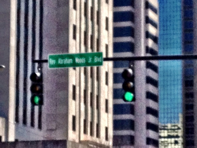 Not only were the preachers out on the race course, but streets are named after them, too.