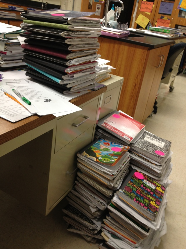 Almost 120 science notebooks!