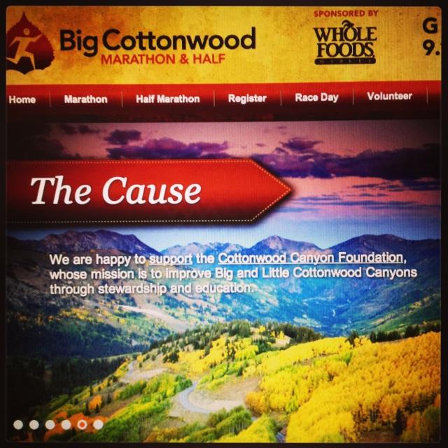Big Cottonwood Marathon-Utah