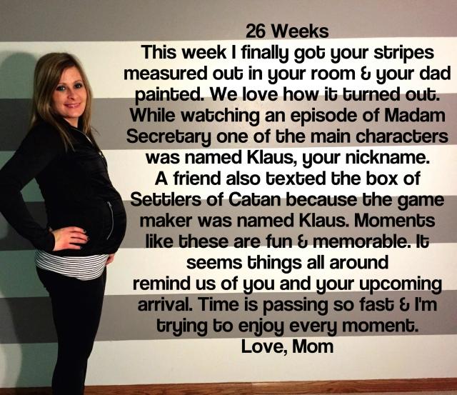 26 Weeks Maternity