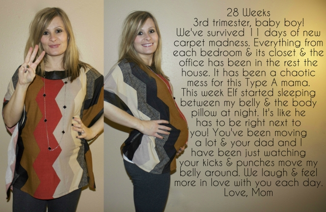 28 Weeks Maternity Journal